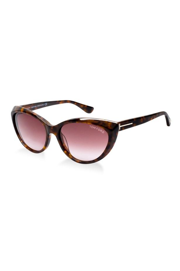 """Sunglasses, $425, Tom Ford, <a href=""""http://sunglasshut.com/au"""">sunglasshut.com/au</a>"""