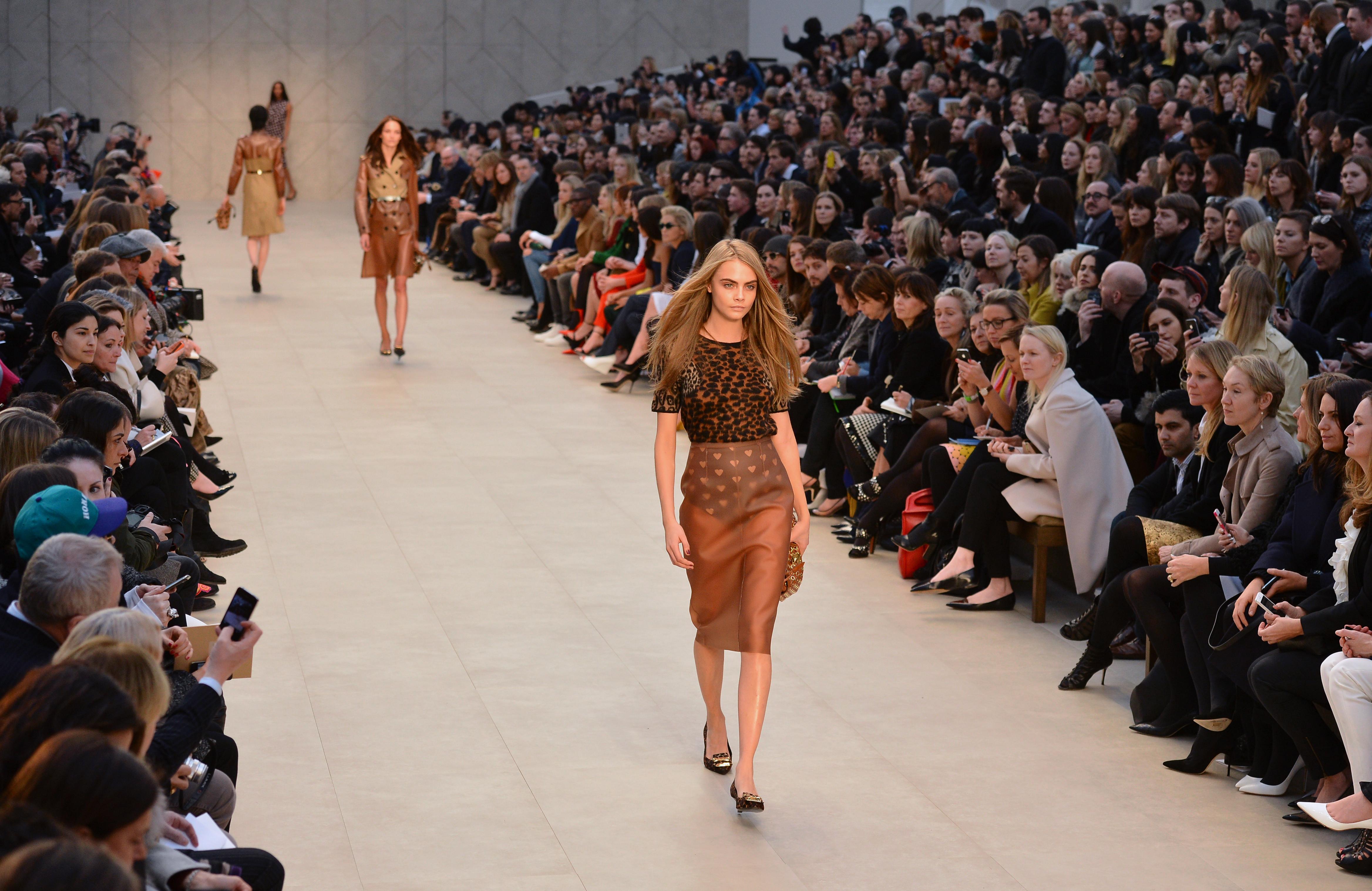 Burberry Prorsum's AW13 London Fashion Week show