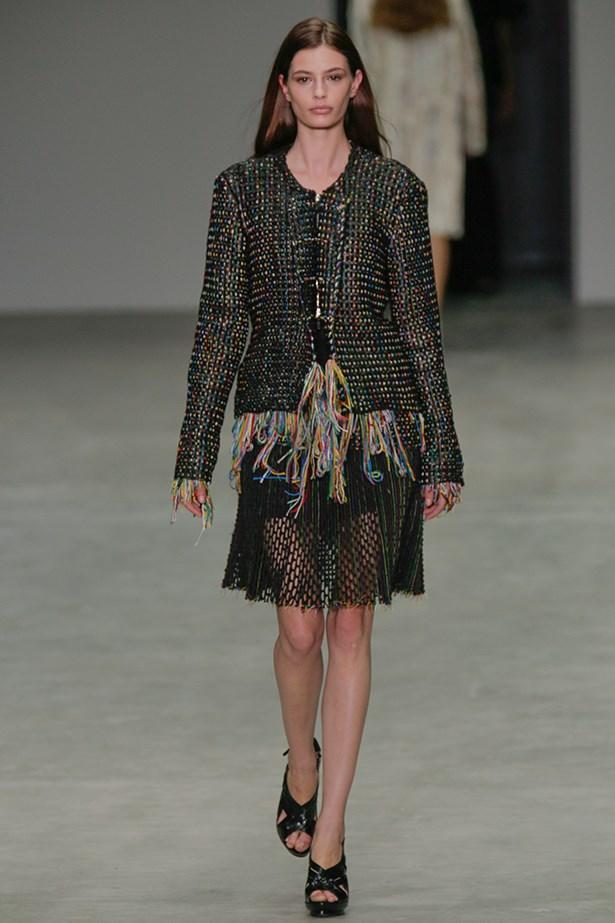Cassi Van Den Dungen at Calvin Klein.
