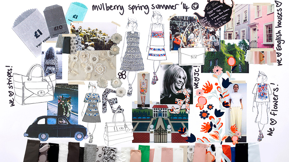 Mulberry Spring Summer campaign