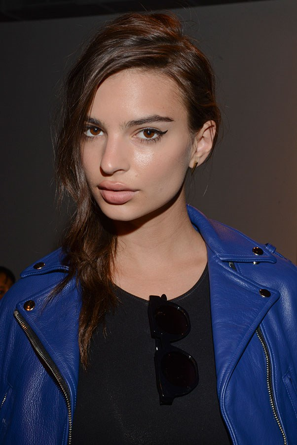 Emily Ratajkowski at New York Fashion Week