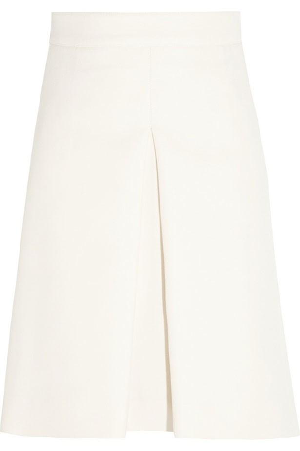 """Skirt, Approx. $1860, Valentino, <a href=""""http://net-a-porter.com"""">net-a-porter.com</a>"""