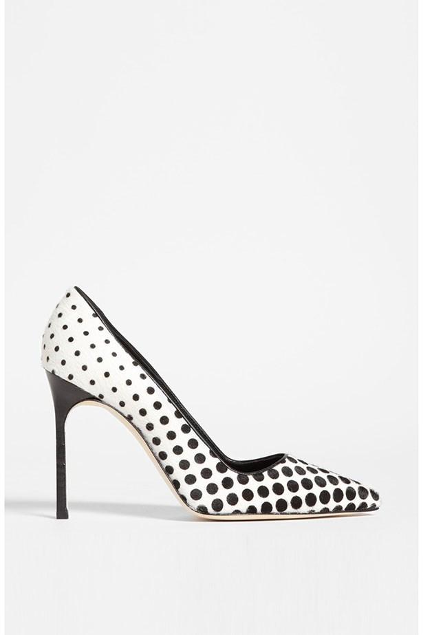 "Heels, Approx. $1026, Manolo Blahnik, <a href=""http://shop.nordstrom.com"">shop.nordstrom.com</a>"