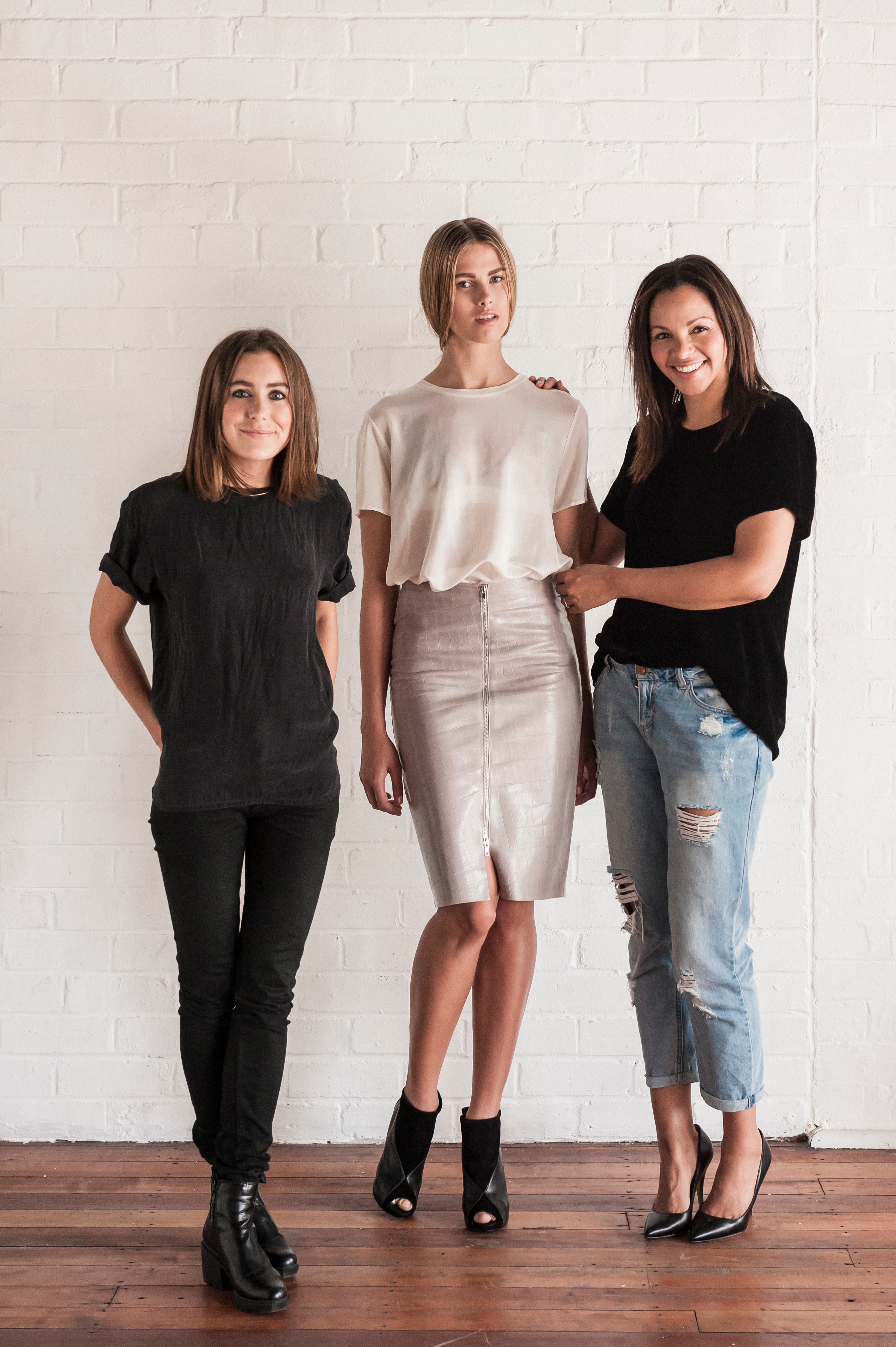Designers and models for Khalo