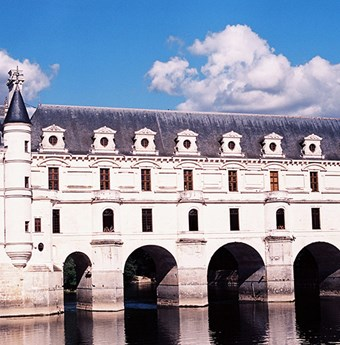 A profile look at Chenonceau's architecture by Kinga Burza