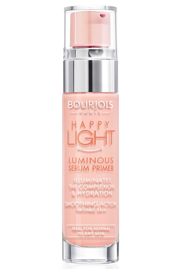 Happy Light Luminous Serum Primer, $21, Bourjois, 1800 181 040. Available Oct 1