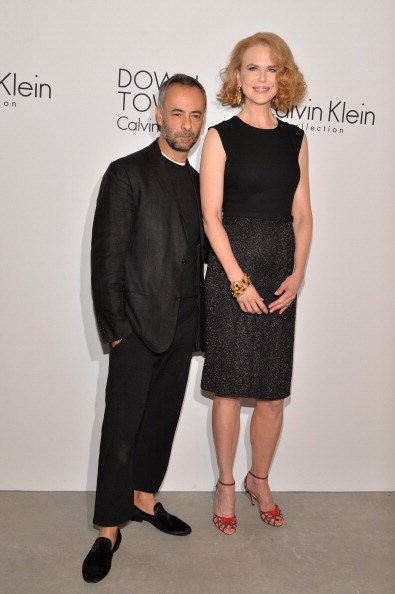 Costa and Nicole Kidman after the Calvin Klein Collection SS14 show during New York Fashion Week, 2013.