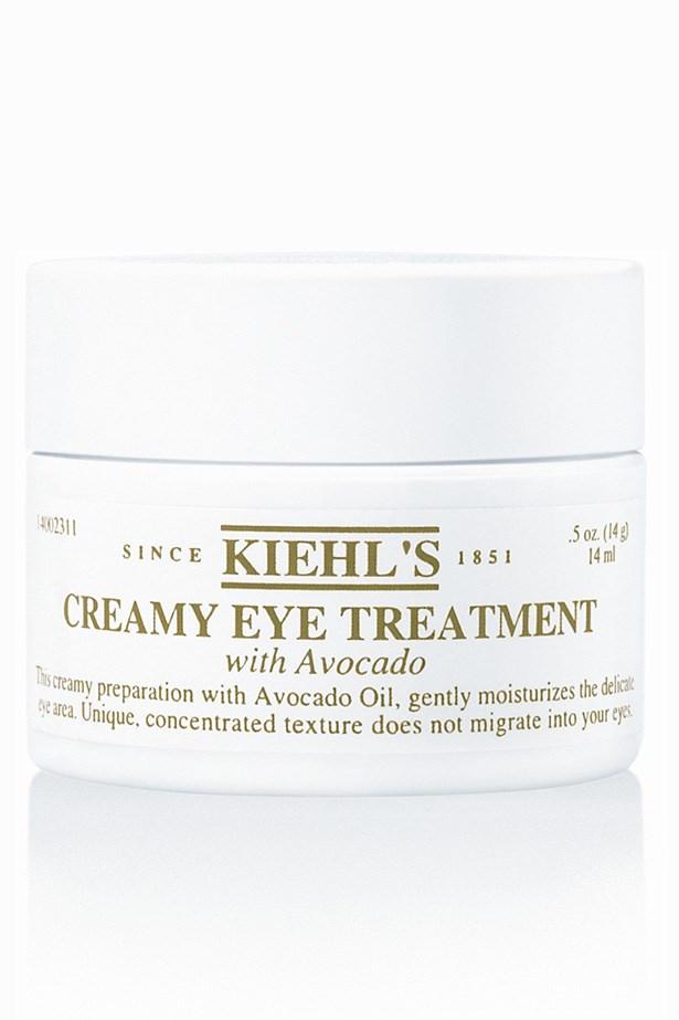 Creamy Eye Treatment with Avocado, $39, Kiehl's, 1300 651 991