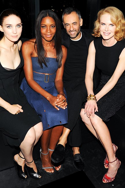 Rooney Mara, Naomie Harris, Francisco Costa and Nicole Kidman.