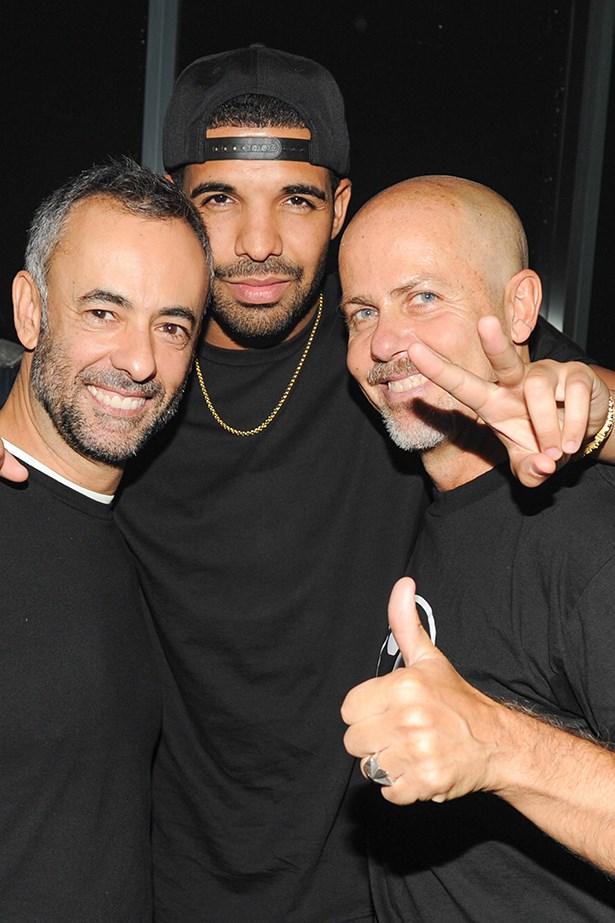 Francisco Costa and Drake.