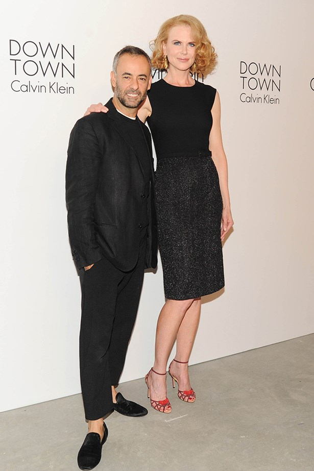 Francisco Costa and Nicole Kidman.