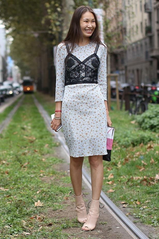 The Street Style Crowd Went Full Monochrome at New York