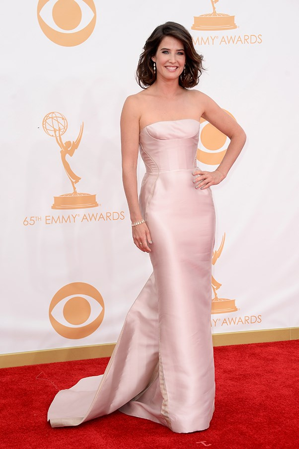 <p><strong>TREND: PALE AND INTERESTING</strong></p> <p><em>How I Met Your Mother</em> star Cobie Smulders wore a strapless J. Mendel gown and Irene Neuwirth jewellery.</p>