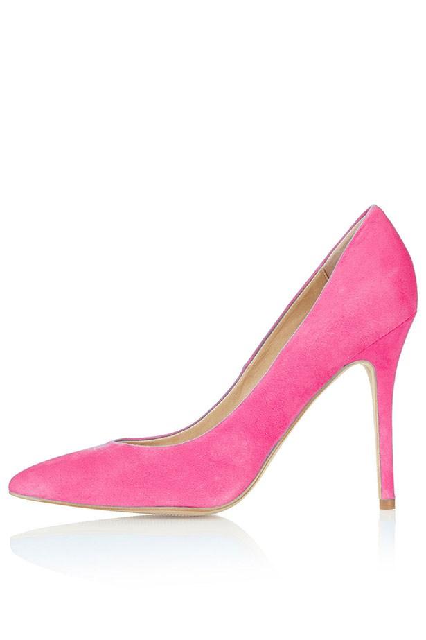 """Heels, Approx $100, Topshop, <a href=""""http://topshop.com"""">topshop.com</a>"""