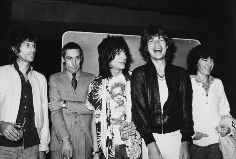 The Rolling Stones are undoubtedly one of the greatest rock outfits of all time, thanks to the winning combination of Mick Jagger, Keith Richards, Charlie Watts, Ronnie Wood and Bill Wyman. Here they are in New York in 1977 - is it just us or could baby-faced Jagger pass as Harry Styles' brother?