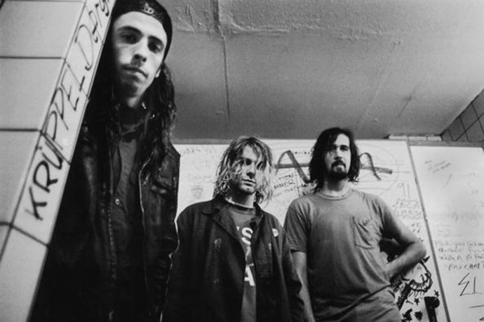 This list wouldn't be complete without a nod to Nirvana. Dave Grohl (now of The Foo Fighters), Krist Novoselic and Kurt Cobain posed up a storm in an underground tunnel in Germany in 1991 - the same year Courtney Love came onto the scene!