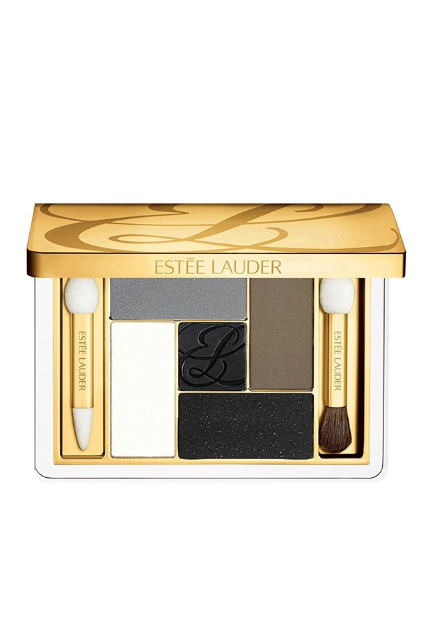 """Five Color Eyeshadow Palettes, $90, Estée Lauder, <a href=""""http://esteelauder.com.au """">esteelauder.com.au </a> We love this five colour palette, which has all the shades to build the perfect statement eye. Apply a little sheer, illuminating powder on the inner of each eye, and along the bow bone. If you're going for the sultry smoky look, apply a charcoal shade along the upper lash line."""