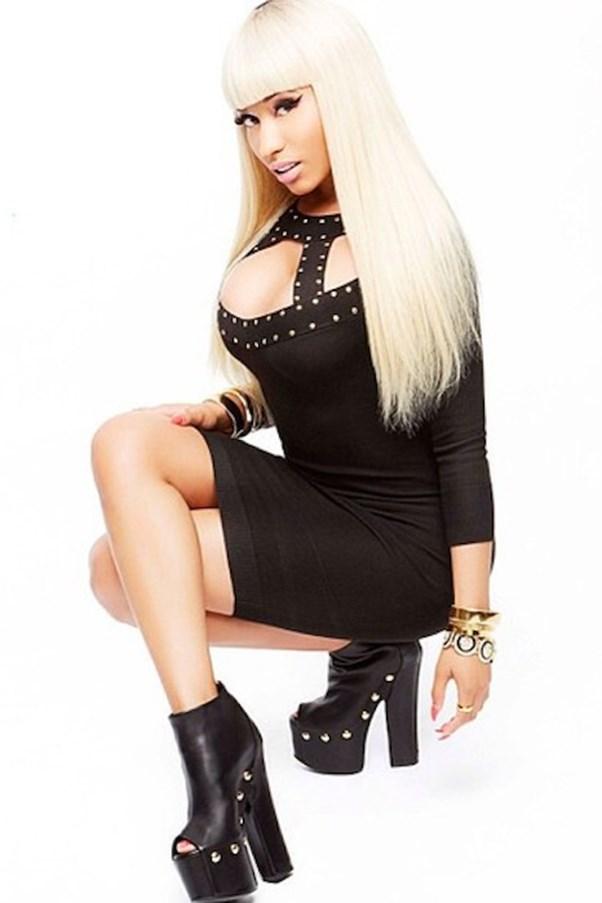 Nicki Minaj for KMart studded dress.