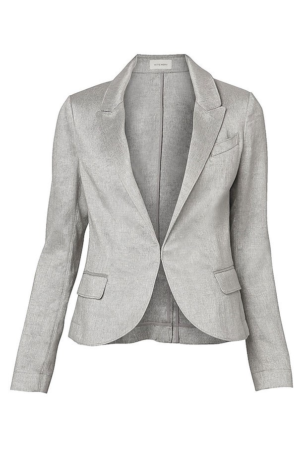 Linen Blazer, $169.95, Witchery, witchery.com.au