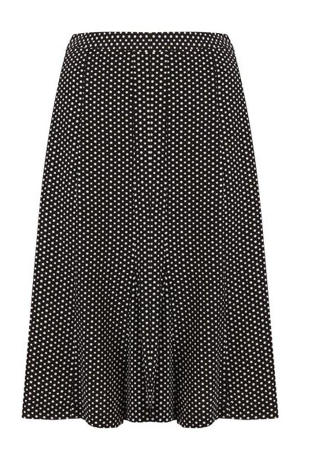 "Skirt, $169, Sportscraft, <a href=""http://www.sportscraft.com.au "">sportscraft.com.au </a>"