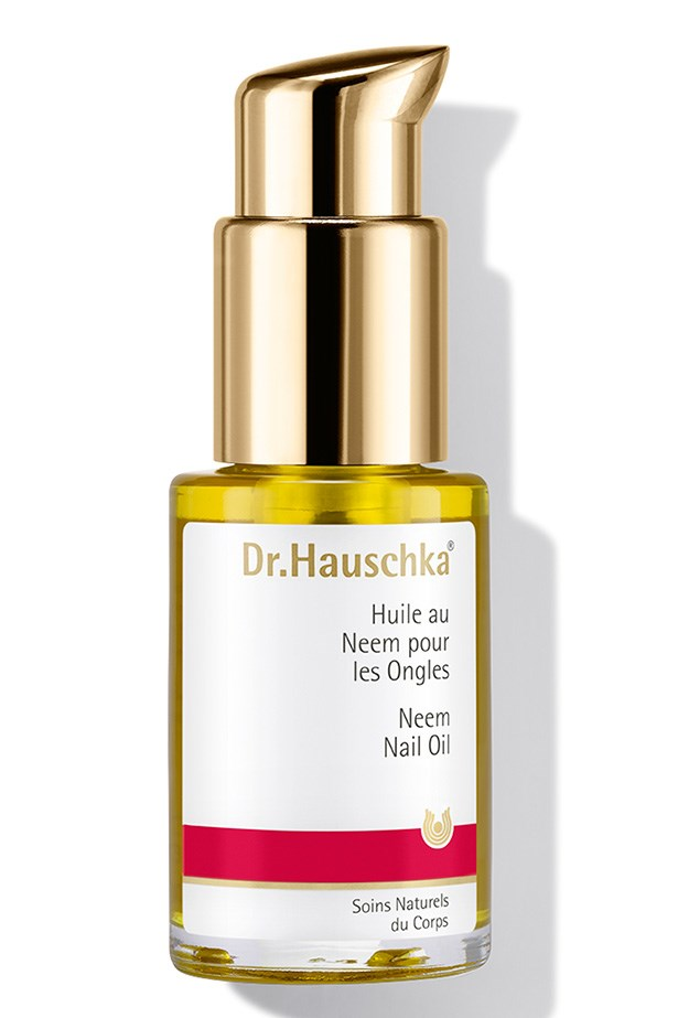 """Neem Nail Oil, $43, Dr. Hauschka, <a href=""""http://drhauschka.com.au"""">drhauschka.com.au</a> Stimulate nail growth by massaging Neem Nail Oil into your nail bed."""