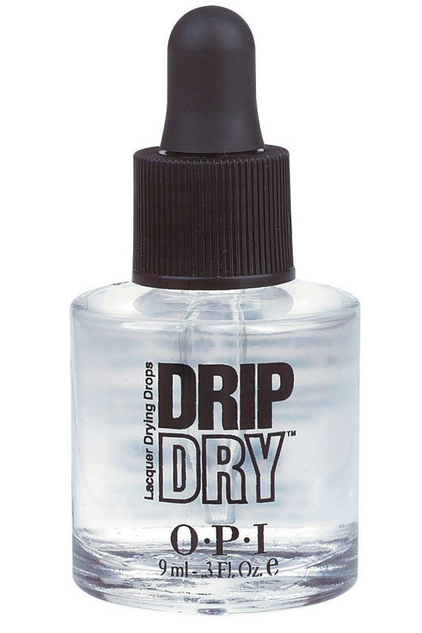 """Quick Dry, $23.95, OPI, <a href=""""http://opi.net.au"""">opi.net.au</a> Never smudge your manicure, ever again. We love OPI's quick dry drops."""