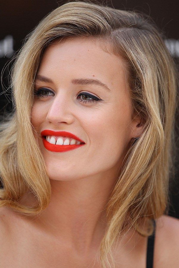 """<p><strong>Who:</strong>Georgia May Jagger</p> <p><strong>Signature look:</strong> Gap-toothed smile</p> <p><strong>Muse factor:</strong>With a bio that reads: """"The youngest daughter of Rolling Stones lead singer Mick Jagger and model Jerry Hall"""", Georgia May Jagger was destined for It Girldom (yes that is a place).  Her instantly recognisable gap-toothed smile – which she frames with a daring lipstick shade at every opportunity – sets her apart on the modelling and red-carpet circuits. Mwah! </p>"""