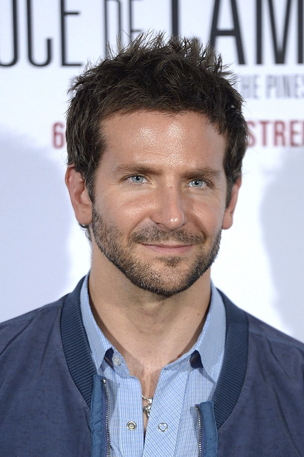 Bradley Cooper, long-time member of the facial fuzz club.