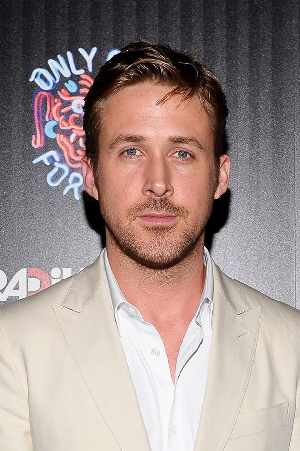 Ryan Gosling rocking some light stubble.