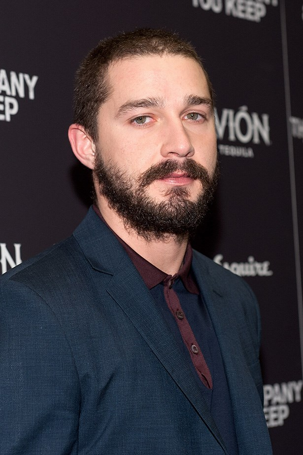Shia LaBeouf has been bearded for many months now, growing it out for a film role last year.