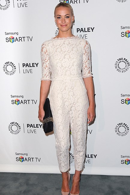 Yvonne Strahovski in Alice by Temperley