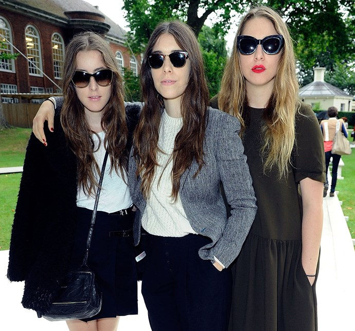 Haim (you know how it's pronounced by now, right?) have come a long way from the days when their parents were a part of the band: now they're knocking back opportunities to feature on Arctic Monkeys tracks, and have worked with the Strokes' Julian Casablancas. Hailing from the Valley in Los Angeles, The Coolest Sisters Ever wrapped up recording their debut album, <em>Days Are Gone</em>, in a studio in Sydney's Alexandria when they toured Australia earlier this year. Dropping today, it has plenty of tracks to have us dancing along when the girls play at St Jerome's Laneway Festival from January, and all summer long.