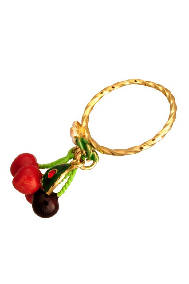 Cherry ring, $89, Les Néréides, lovepersimmon.com.au