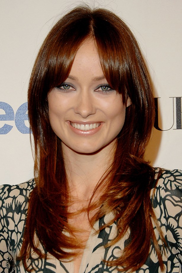 Never shy of a bold colour change, Wilde rocks fresh copper hair at the Teen Vogue Young Hollywood Party in 2007.