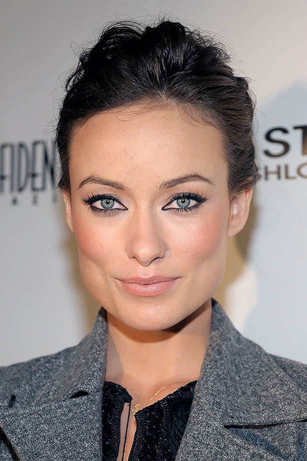 While attending an event to celebrate her 2010 November cover of Confidential, Wilde's eyes garner all attention with lashings of mascara.