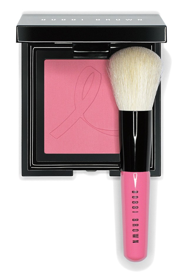 """French Pink Set, $85, Bobbi Brown, <a href=""""http://bobbibrown.com.au"""">bobbibrown.com.au</a> Featuring the Embossed French Pink Blush and Mini Face Blender Brush, Bobbi Brown will donate 20 per cent of the purchase price to breast cancer. J'adore!"""