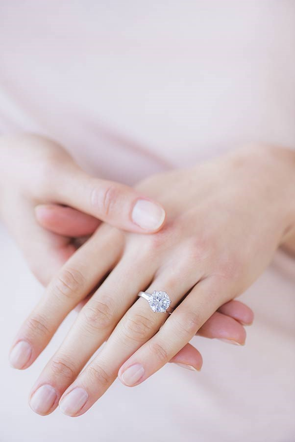 Couples split the cost of engagement ring