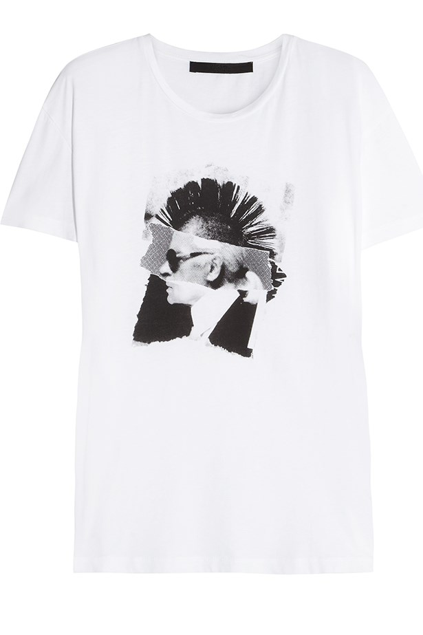<em>KARL GOES PUNK</em> collection available from Net-A-Porter