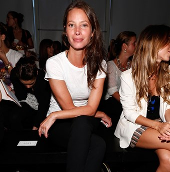 Christy Turlington and Calvin Klein join forces