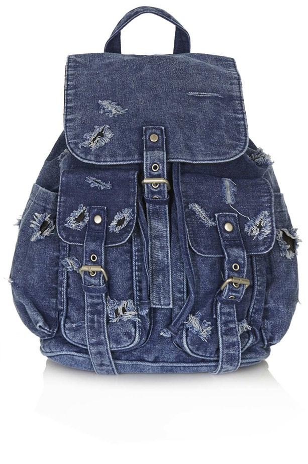 Backpack, approx. $52, Topshop, topshop.com