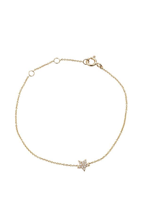 """Bracelet, $345, Claire Aristides, <a href=""""http://aristidesfinejewels.com"""">aristidesfinejewels.com</a>"""