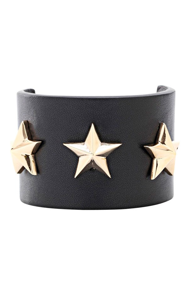 "Cuff, Approx. $760, Givenchy, <a href=""http://barneys.com"">barneys.com</a>"