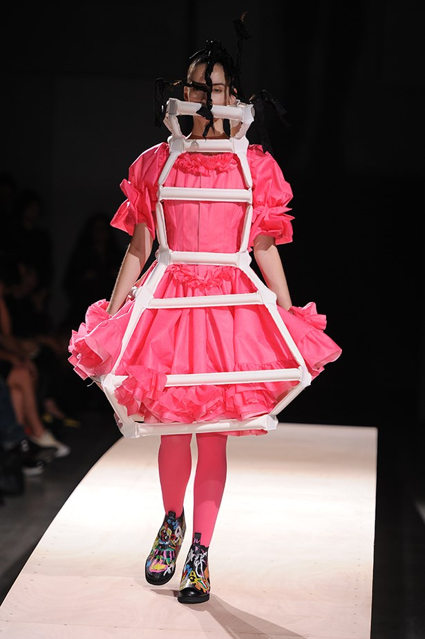 Comme des Garçons creations were so brilliant, each deserved its own score of music.