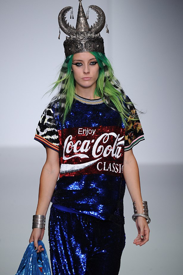 Clash course: Coca-Cola meets a mish-mash of cultural references at Ashish.