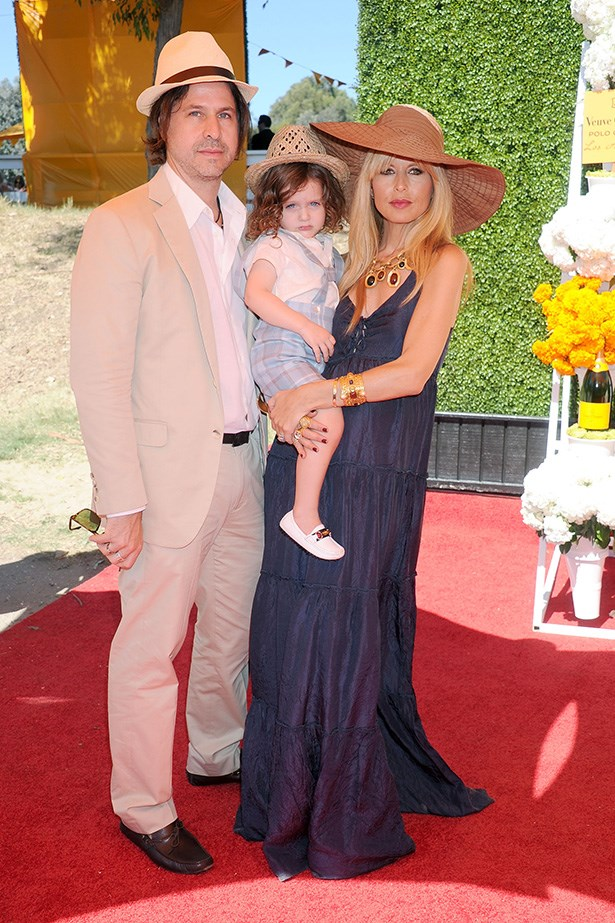 Rachel Zoe and Rodger Berman with their two-year-old son Skyler