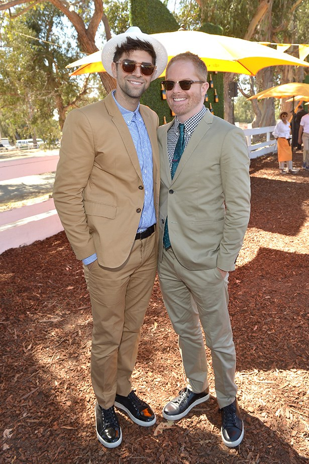 Jesse Tyler Ferguson and husband Justin Mikita