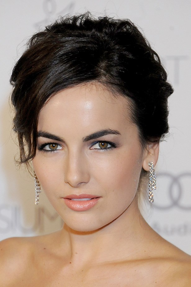 Long-time brow-champion Camilla Belle shows that short can be effective.