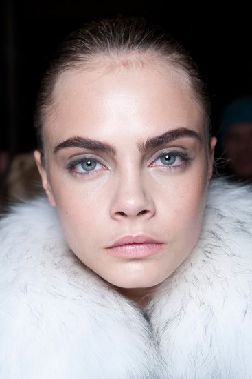 Brit-beauty Cara Delevingne is our current reigning queen of brows. Her brushed-up, delicately tapered pair are the shape requested at pro salons all over.