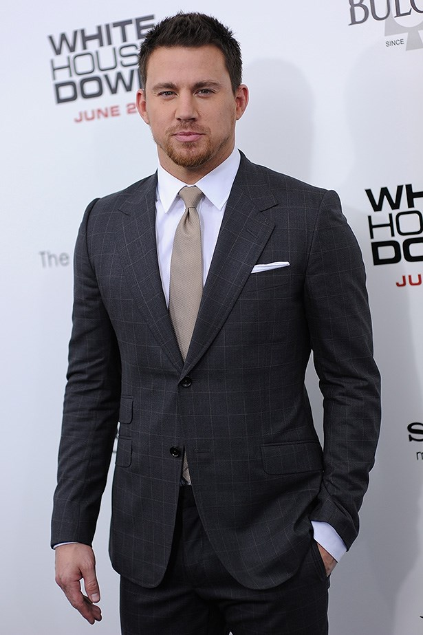 Channing Tatum – And they're not all women! Tatum provided us with eye candy by modelling for clients such as Emporio Armani, Nautica, Dolce & Gabbana and Abercrombie & Fitch early in his career.  We loved him in <em>Magic Mike</em>, <em>21 Jump Street</em> and <em>White House Down</em> and by next year he'll have 33 films on his resume.