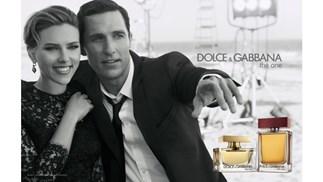 Scarlett Johansson and Matthew McConaughey for Dolce and Gabbana
